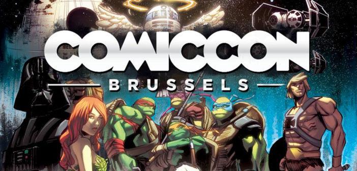 Binnen enkele uren gaat Comic Con Brussels 2017 van start!