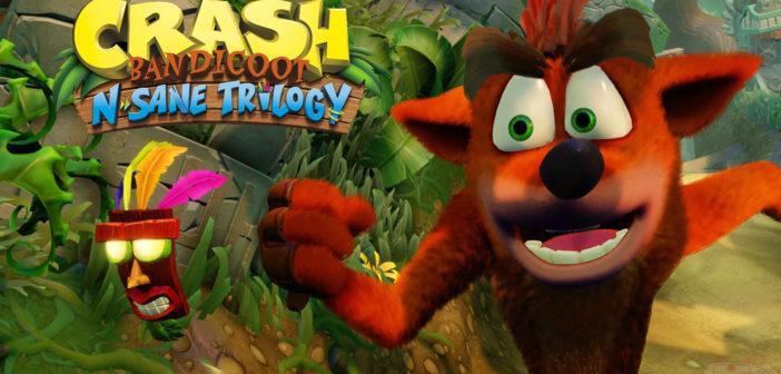 Crash Bandicoot N. Sane Trilogy verschijnt 30 juni
