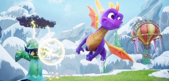 Spyro Reignited Trilogy uitgesteld tot november, nieuwe gameplayvideo